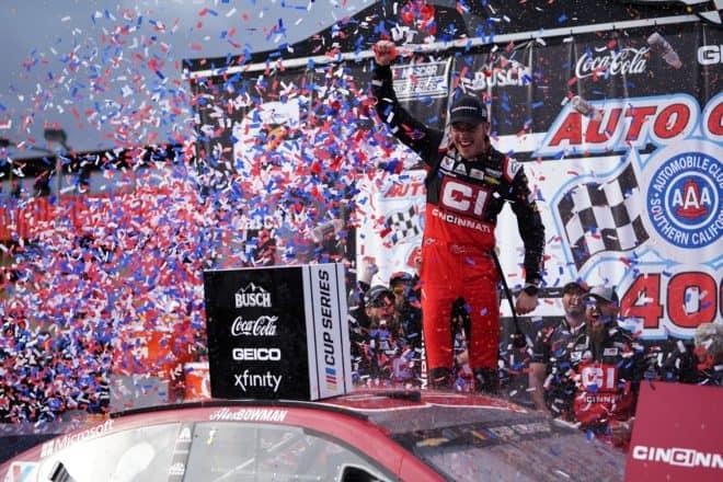 2020 California NCS Alex Bowman Victory Lane RLP