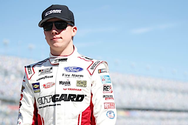 John Hunter Nemechek Driving for Kyle Busch Motorsports in Truck Series