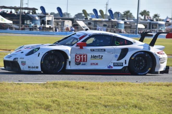 2020 Daytona IWSC Nick Tandy Car Phil Allaway