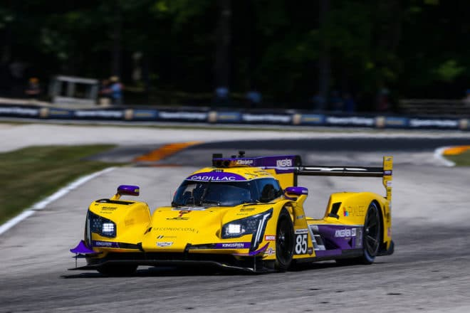 2019 Road America IWSC Tristan Vautier Car Courtesy of IMSA