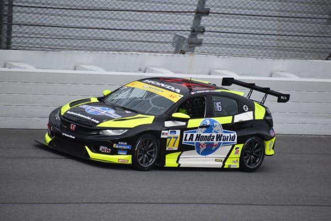 2020 Daytona IMPC Taylor Hagler Car Phil Allaway