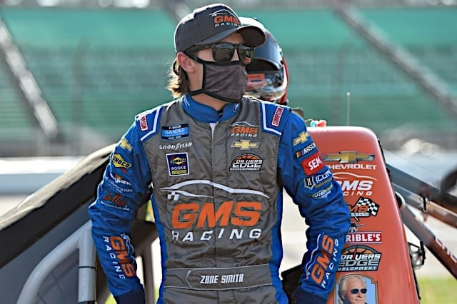 Zane Smith Narrowly Points His Way Into Championship 4 at Martinsville