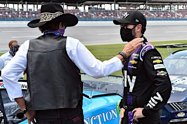 Jimmie Johnson Richard Petty