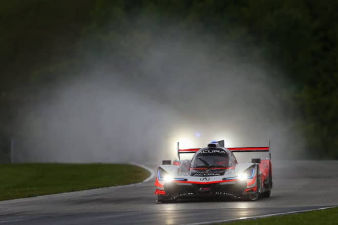 2020 Road America IWSC Helio Castroneves Car Courtesy of IMSA