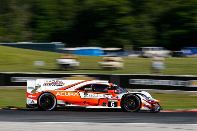 2020 Road America IWSC Juan Pablo Montoya Car Courtesy of IMSA
