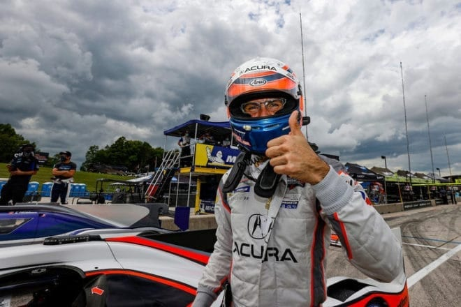 2020 Road America IWSC Ricky Taylor Pole Award Courtesy of IMSA