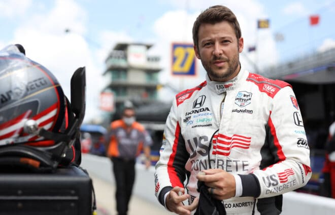 Marco Andretti Stepping Down from Full-Time IndyCar Racing in 2021