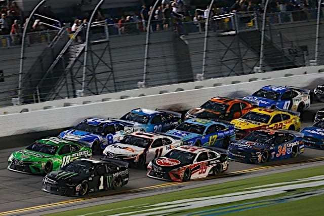 The NASCAR Cup Series in action at Daytona, 2020 Photo Nigel Kinrade Photography
