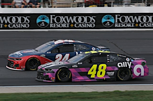 Jimmie Johnson William Byron NH 2020