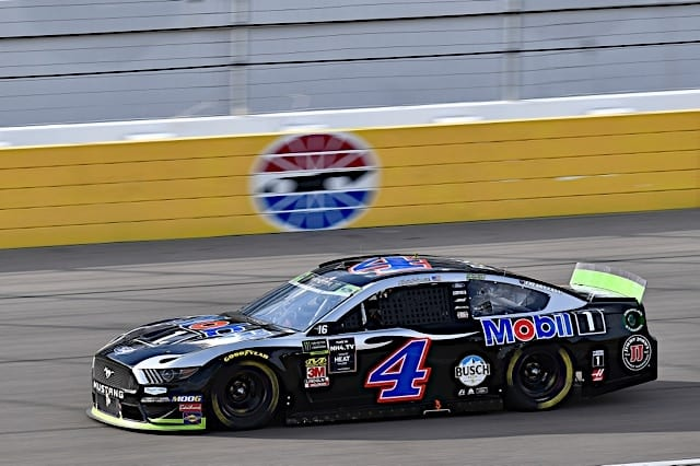 Kevin Harvick on Vegas Pole in Cup Race