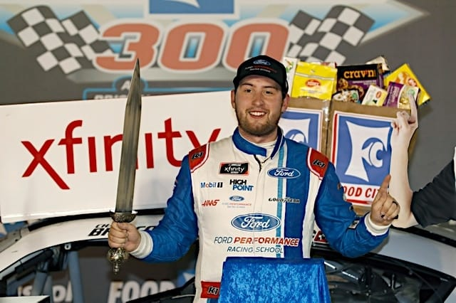 Chase Briscoe Grabs Xfinity Pole at Vegas