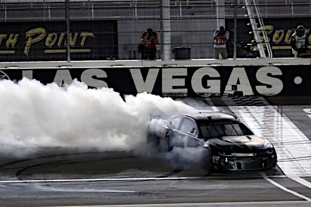 2020 Las Vegas NCS Kurt Busch Burnout NKP 1