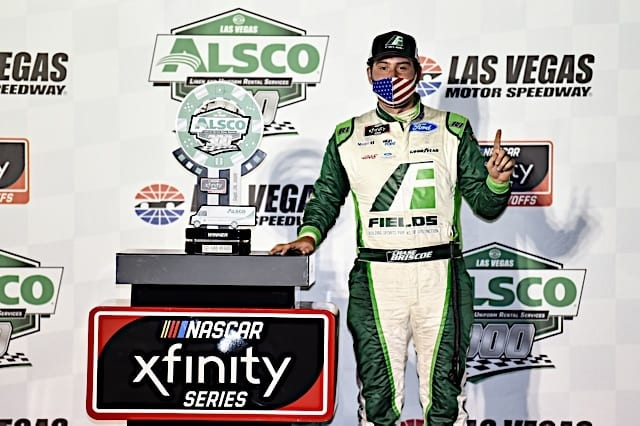 Chase Briscoe Earns Xfinity Pole at Talladega