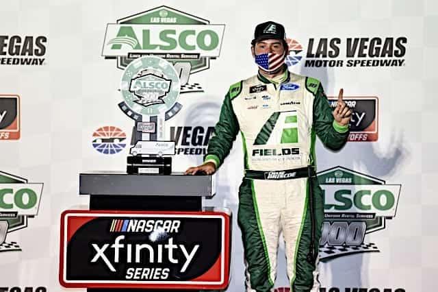Chase Briscoe Earns Xfinity Pole at Talladega