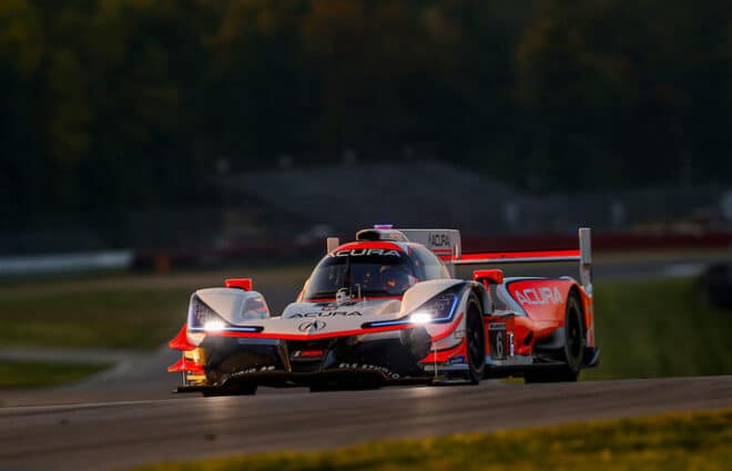Acura Team Penske Sweeps Front Row at Mid-Ohio