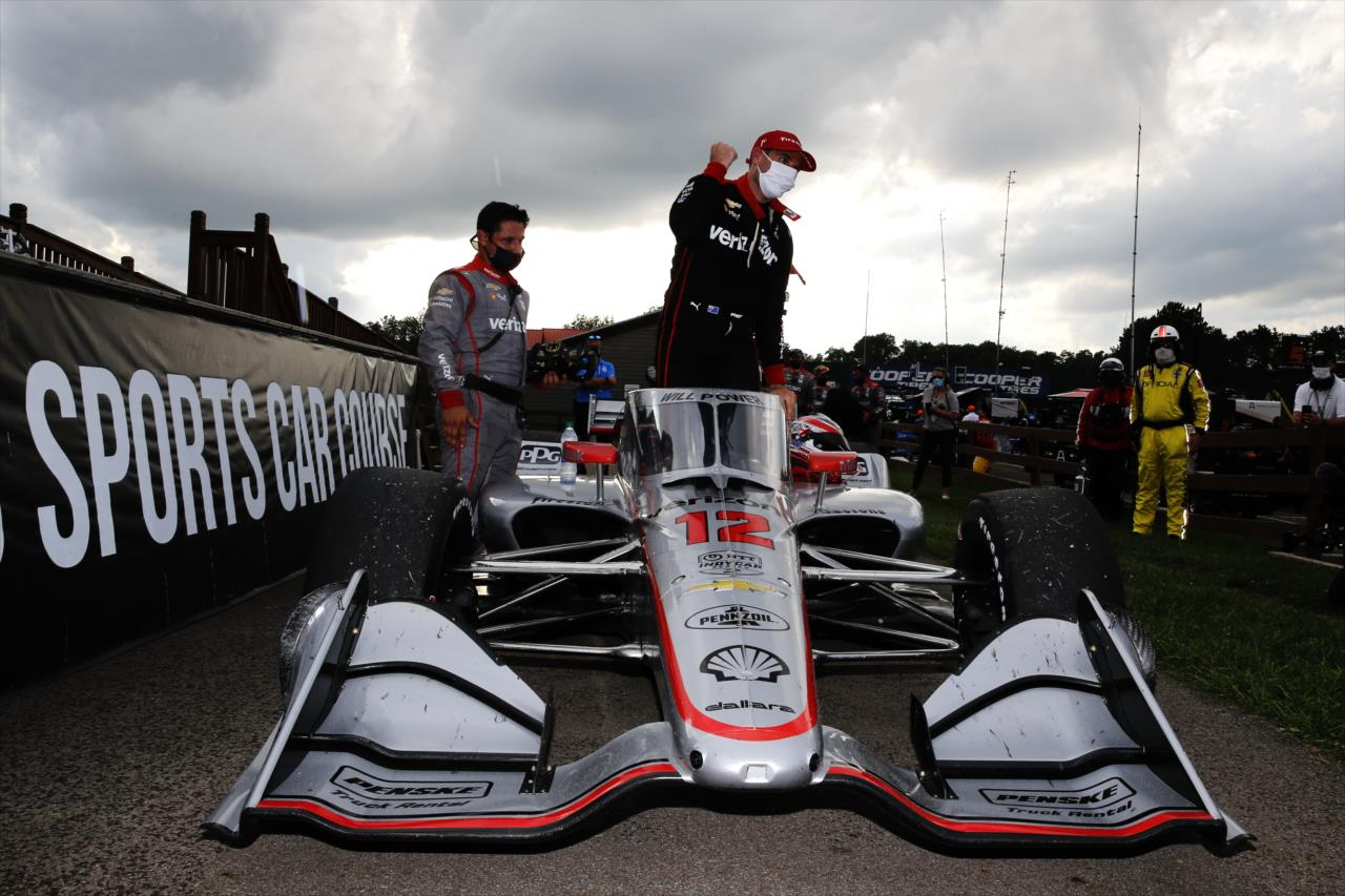 2020 Mid Ohio IndyCar Will Power Victory Lane IndyCar Media