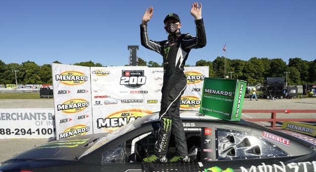 Ty Gibbs Leads Flag to Flag, Wins ARCA Race at Winchester