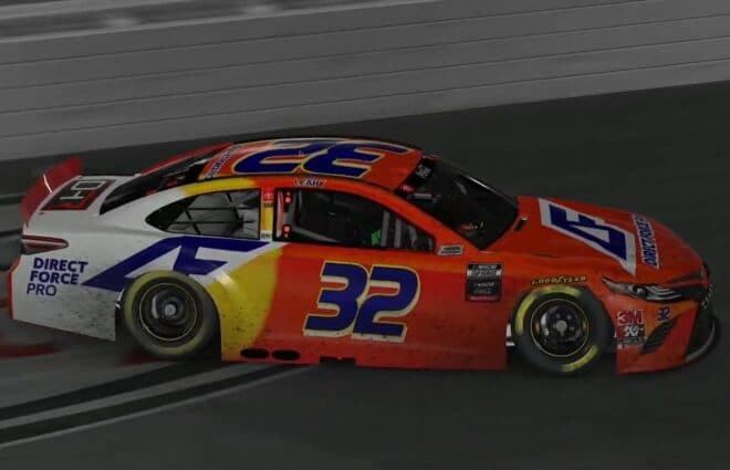 Keegan Leahy Dominates at Virtual Darlington in eNASCAR Coca-Cola iRacing Series