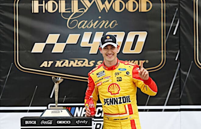 Couch Potato Tuesday: NBC Made the Hollywood Casino 400 the Joey & Kevin Show