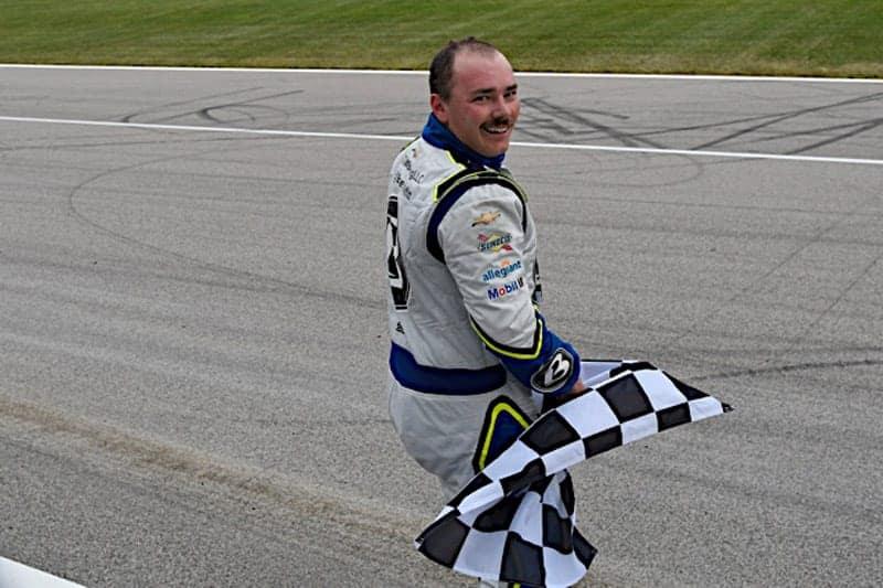 2020 Kansas II truck Brett Moffitt checkered flag NKP
