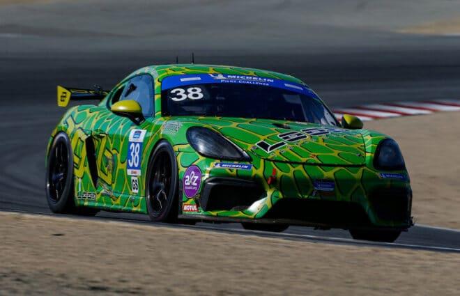Jan Heylen, Jeff Westphal Quickest in Laguna Seca Pilot Challenge Practices