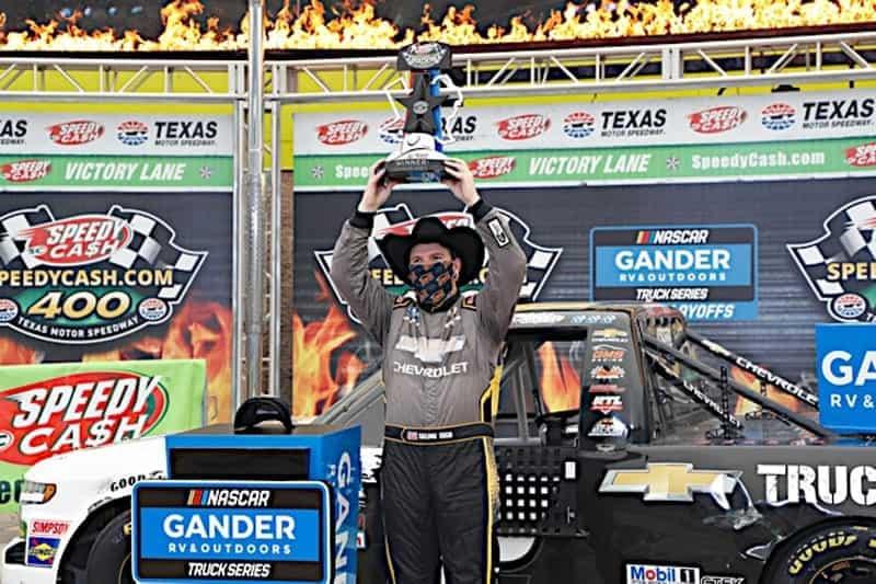 2020 Texas II truck Sheldon creed trophy NKP