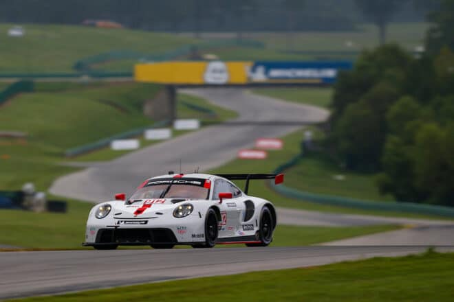 2020 VIR IWSC Laurens Vanthoor Car Courtesy of IMSA