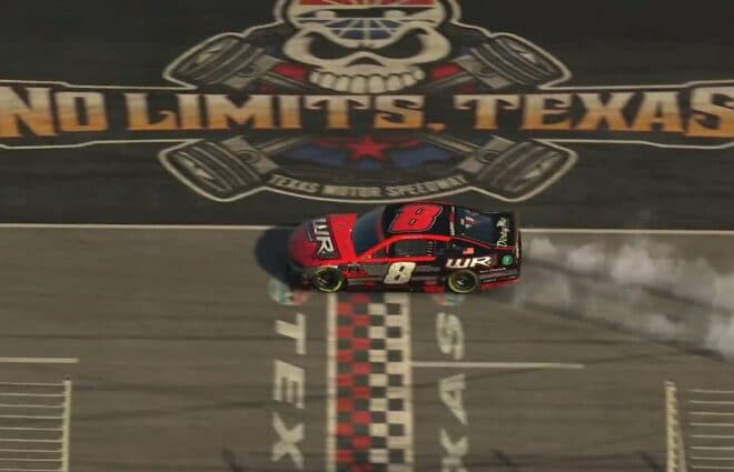 Michael Conti Wins Wild Race at Texas, Secures Spot in iRacing Championship
