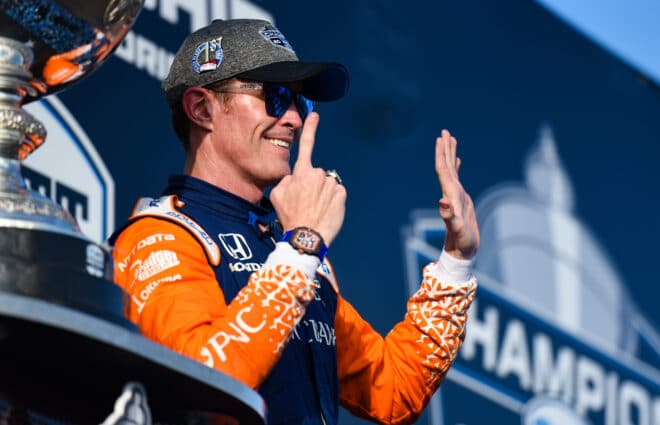 Scott Dixon 'Over The Moon' After Winning Sixth IndyCar Championship