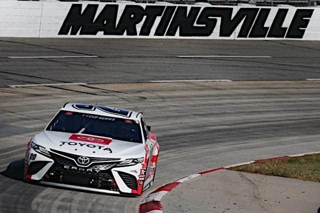 2020 Martinsville NCS Erik Jones Car NKP