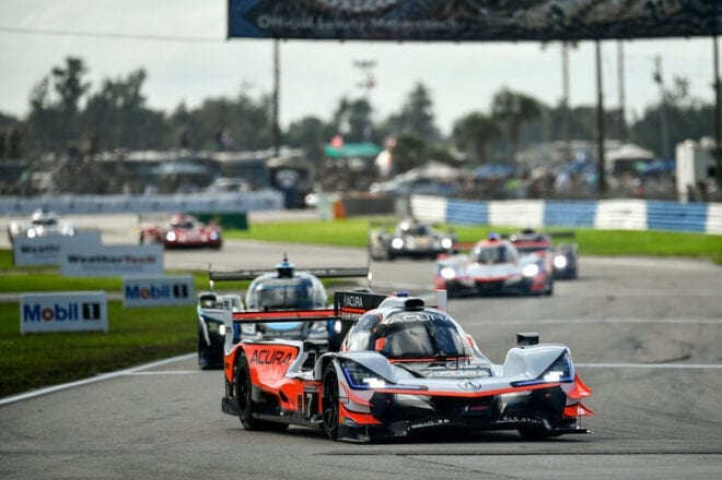2020 Sebring IWSC Ricky Taylor Renger van der Zande Racing Courtesy of IMSA