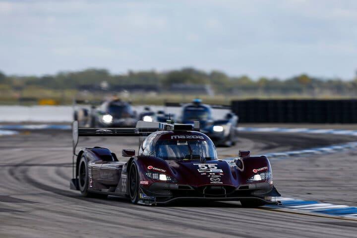 2020 Sebring IWSC Ryan Hunter Reay Car Courtesy of IMSA