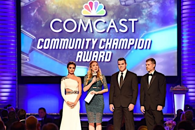 Samantha Busch Wade Jackson Comcast Community Champion 2016