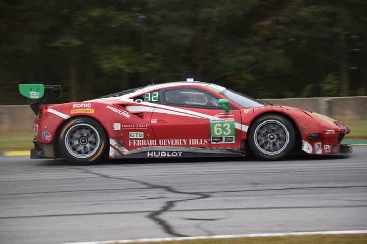 2017 Road Atlanta IWSC Matteo Cressoni Car Phil Allaway