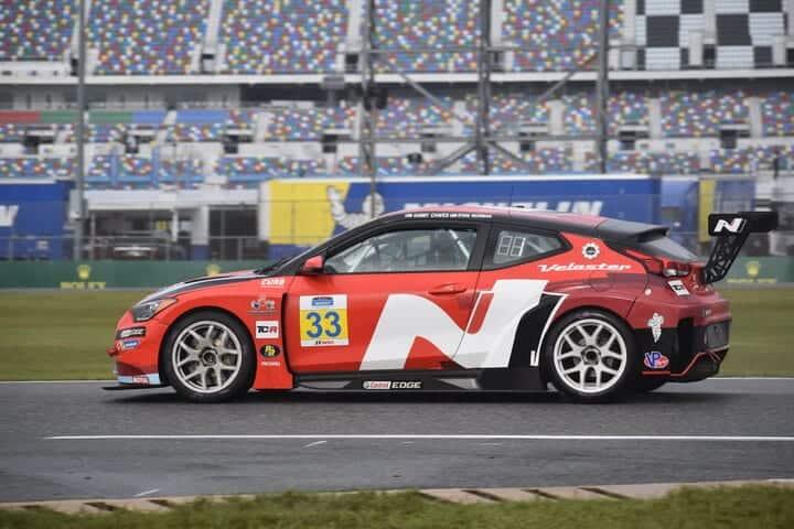 2020 Daytona IMPC Gabby Chaves Car Phil Allaway