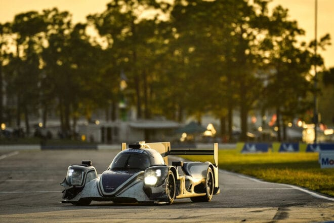 2020 Sebring IWSC Simon Trummer Car Courtesy of IMSA