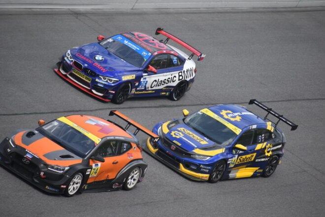 2020 Daytona IMPC AJ Muss Betiske Visser Brian Henderson Racing Phil Allaway