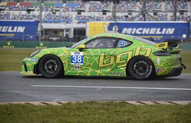 Spencer Pumpelly Quickest in Pilot Challenge ROAR Day No. 1