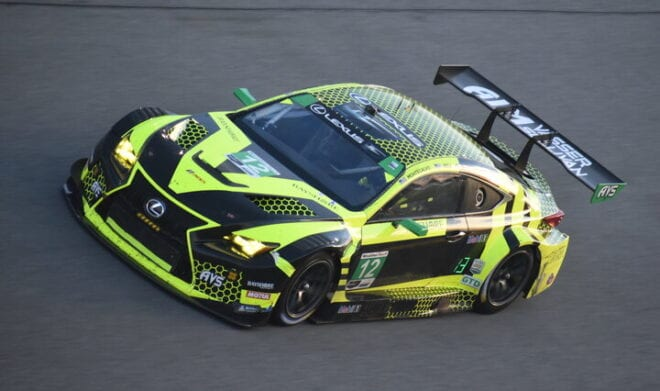 2020 Daytona IWSC Frankie Montecalvo Car Phil Allaway