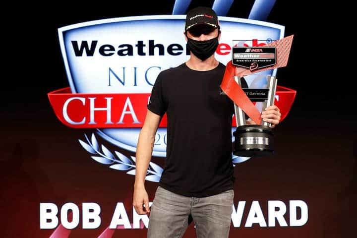 2020 Sebring IWSC Ryan Hardwick Bob Akin Award Courtesy of IMSA