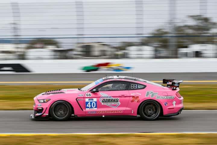 2021 Daytona IMPC Chad McCumbee Car Courtesy of IMSA