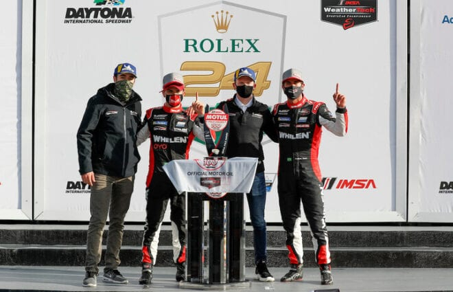 Action Express Racing Overcomes Qualifying Issue, Wins Motul Pole Award 100