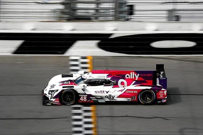 2021 Daytona IWSC Kamui Kobayashi Car Courtesy of IMSA