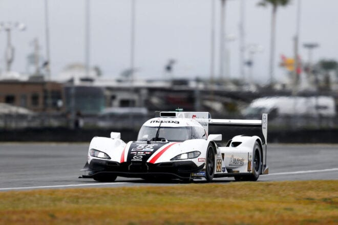 2021 Daytona IWSC Oliver Jarvis Car Courtesy of IMSA