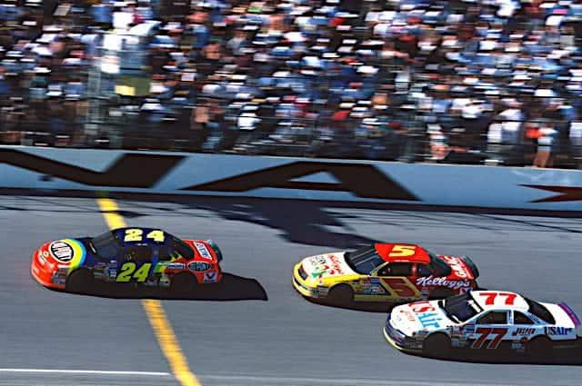 Jeff Gordon Leda Terry Labonte Daytona 1994 Photo: Nigel Kinrade Photography