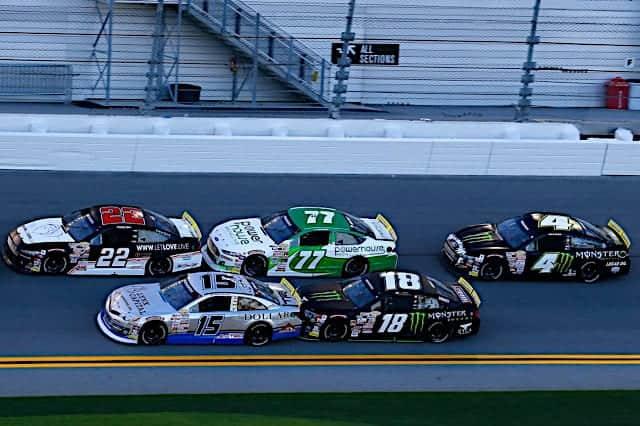 2020 Daytona ARCA Pack Racing (Credit: NKP)