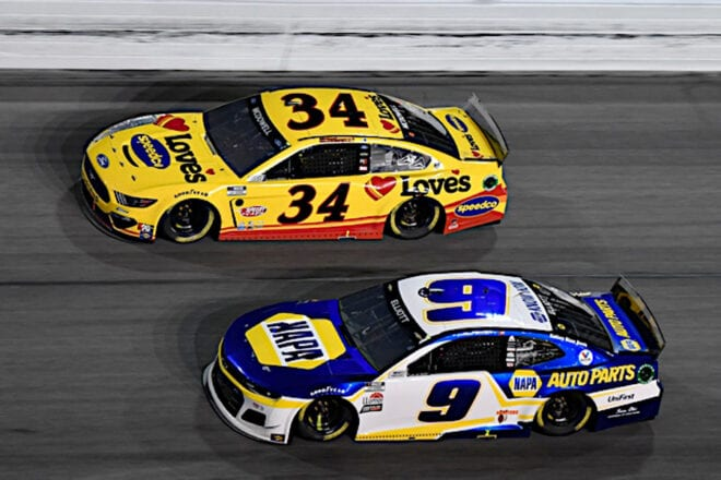 Michael McDowell wins 2021 Daytona 500, Chase Elliott close second, Photo: Nigel Kinrade Photography