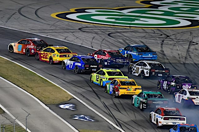 Pack Racing during the 2021 Busch Clash