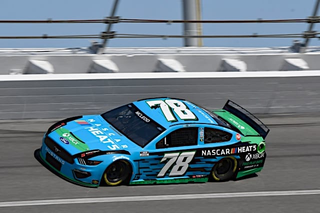 BJ McLeod NASCAR Heat 5 car in 2021 Daytona 500 Photo NKP