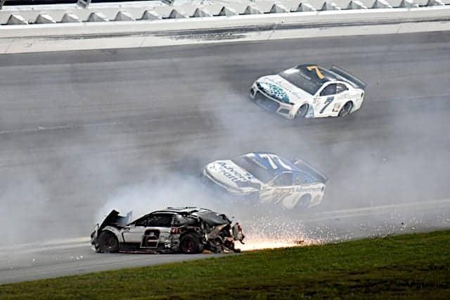 2021 Daytona I Cup Brad Keselowski crash damage NKP